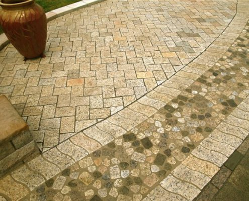 earthstone patio design