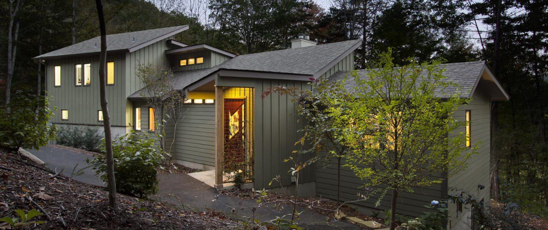 Contemporary House, asheville, scott w bartholomew architecture
