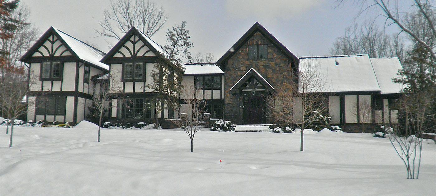 Tudor House, Asheville, Scott W Bartholomew Architect