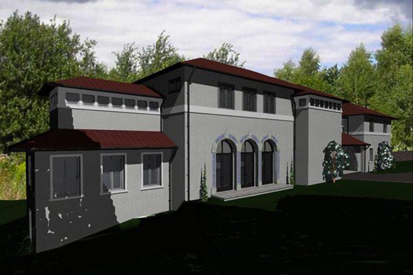 custom home design - drawing
