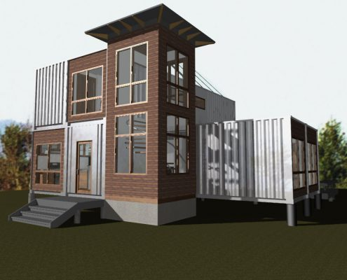 ISBU 1600+ - eco-friendly custom home design 1