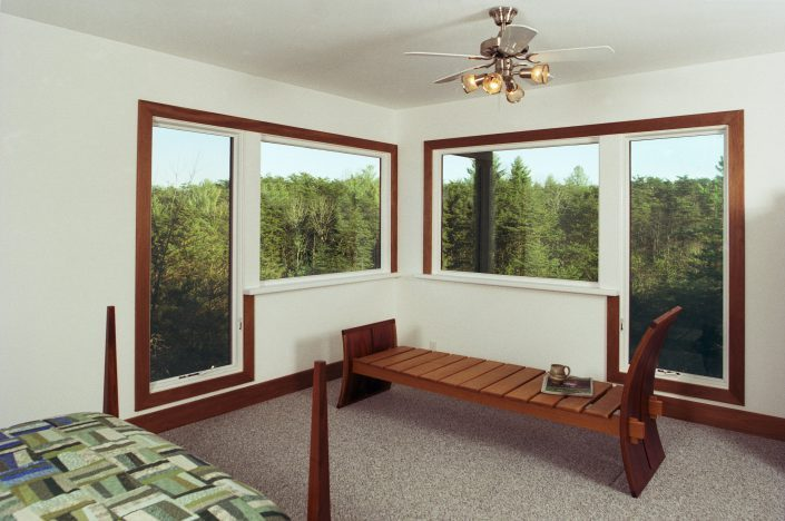 Bedroom design, asheville, Scott W Bartholomew Architect