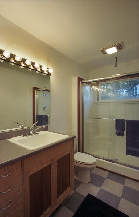 Bathroom, asheville, Scott W Bartholomew Architect