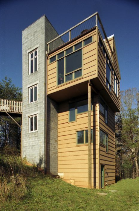 Tower House, asheville, Scott W Bartholomew Architect