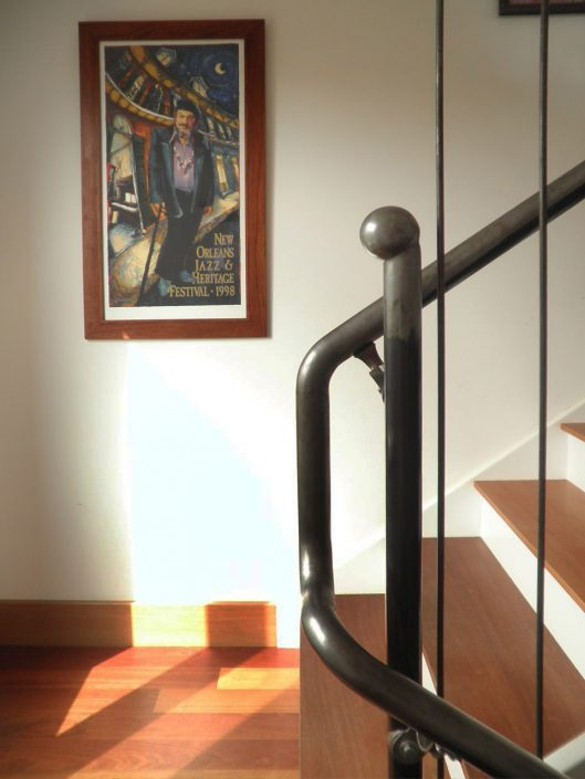 Staircase design, asheville, Scott W Bartholomew Architect