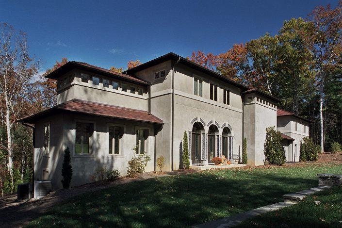 Villa - exterior building design