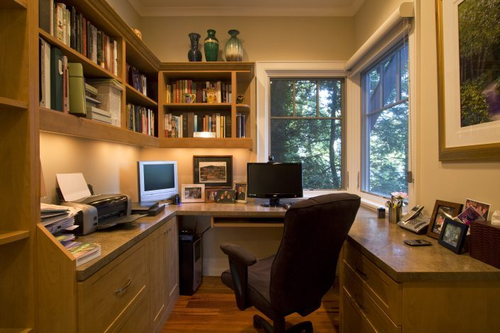 home office, Scott W Bartholomew Architect