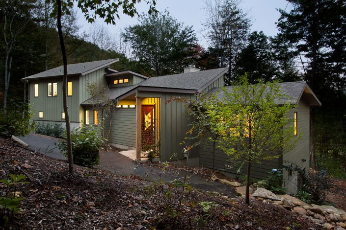 contemporary, asheville, Scott W Bartholomew Architect