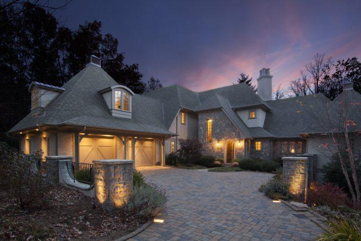 French Country, asheville, Scott W Bartholomew Architect