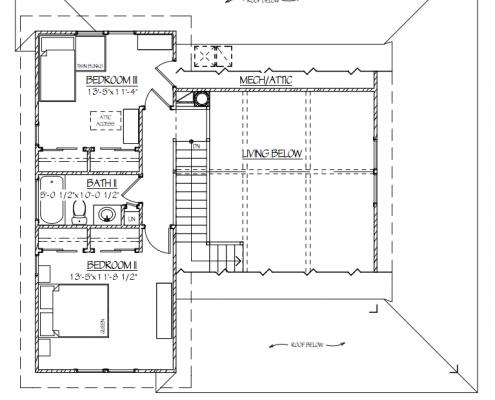Model House Plans, Scott W Bartholomew Architect