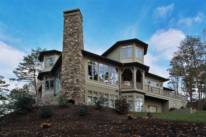 lakehouse, asheville, scott w bartholomew architecture