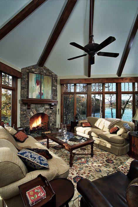 living room, asheville, scott w bartholomew architecture