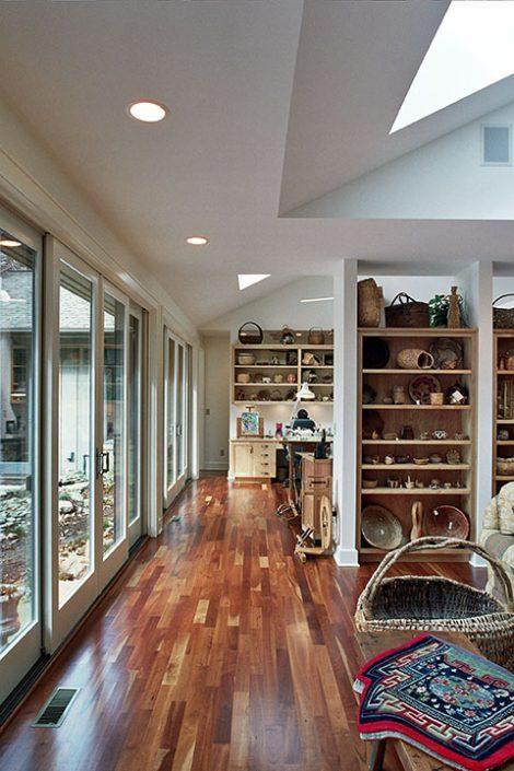 display shelves, asheville, Scott W Bartholomew Architect