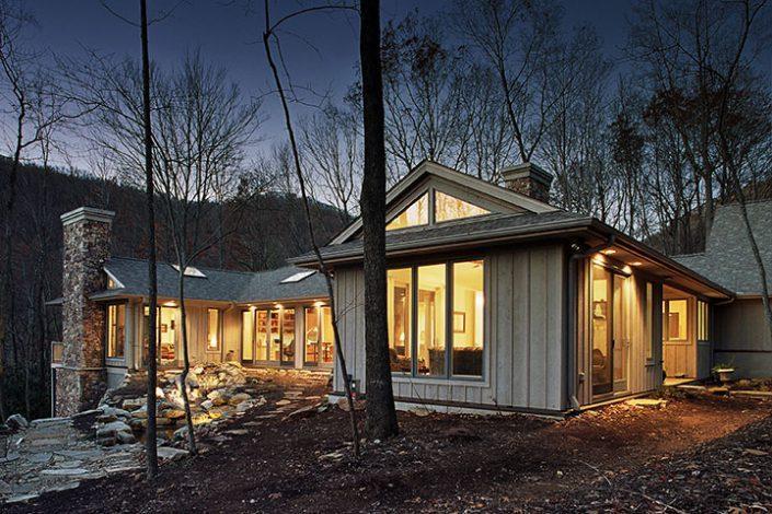 Ranch Style, asheville, Scott W Bartholomew Architect