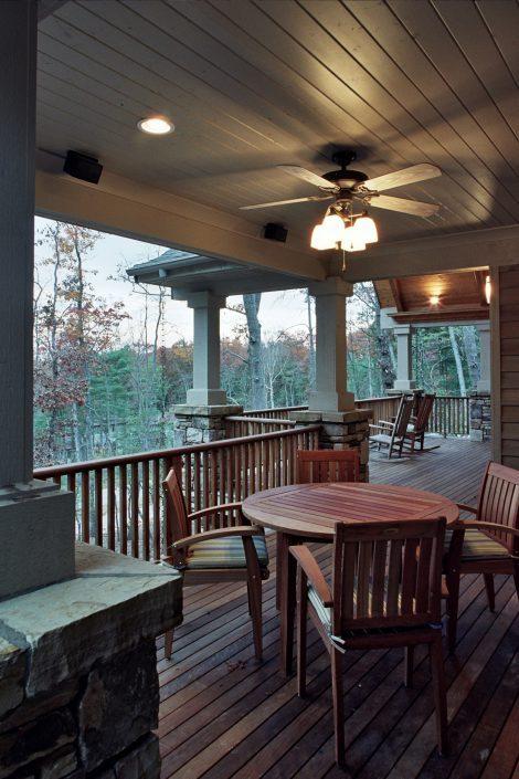 wrap around porch, asheville, scott w bartholomew architecture