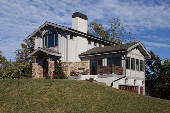 Craftsmand House, Asheville, Scott W Bartholomew Architect