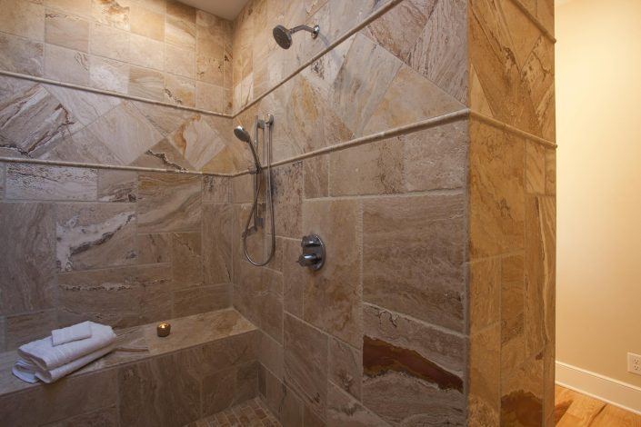 Shower, Asheville, Scott W Bartholomew Architect