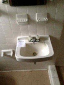 bathroom sink, Scott W Bartholomew Architect