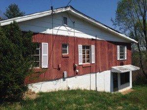 exterior of home, Scott W Bartholomew Architect