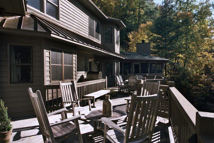 porch addition, asheville, scott w bartholomew architecture