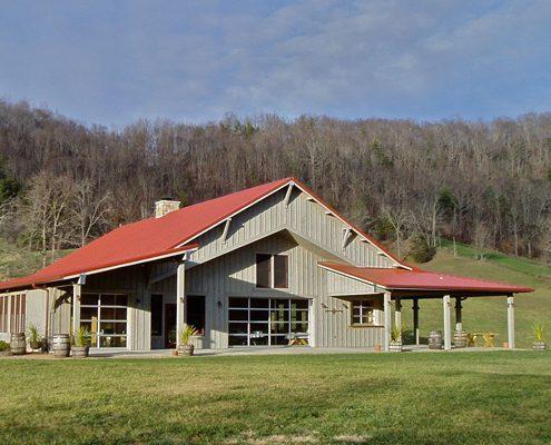 exterior design, asheville, Scott W Bartholomew Architect