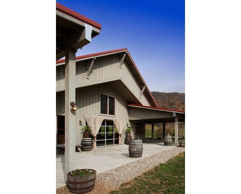 Terrace, asheville, Scott W Bartholomew Architect