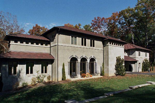 Italianate, Biltmore Forest, Scott W Bartholomew Architect