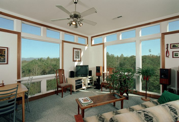 Living, asheville, Scott W Bartholomew Architect