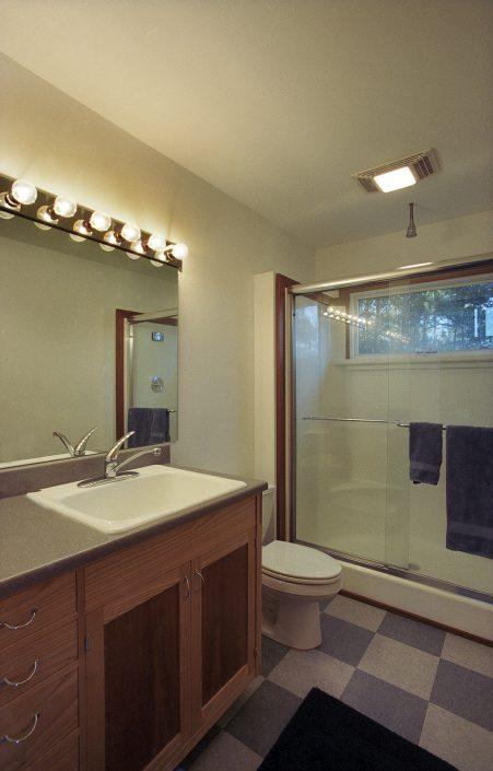 Bathroom, asheville, Scott W Bartholomew Architect