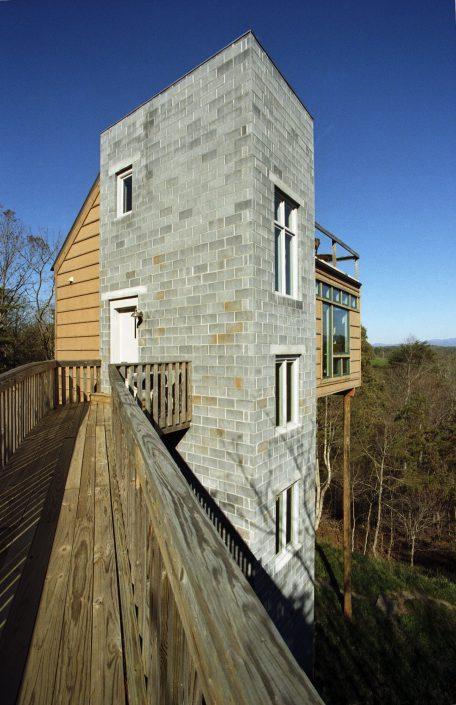 Tower House, asheville, Scott W Bartholomew Architect
