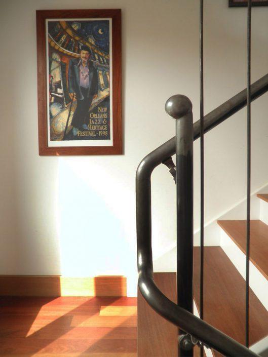 Staircase design, asheville, Scott W Bartholomew Architect