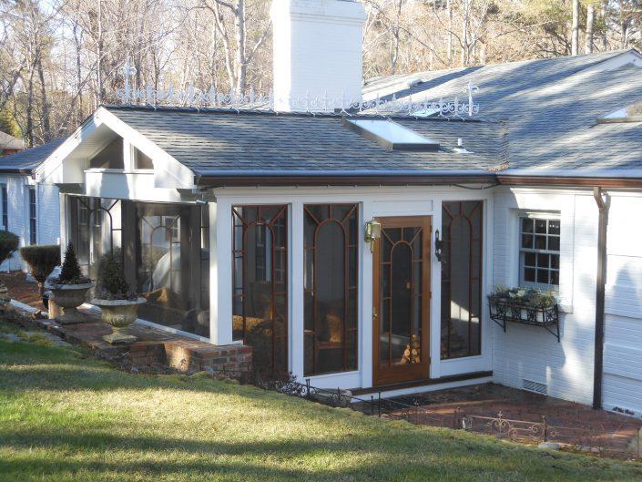 screen porch, asheville, scott w bartholomew architecture