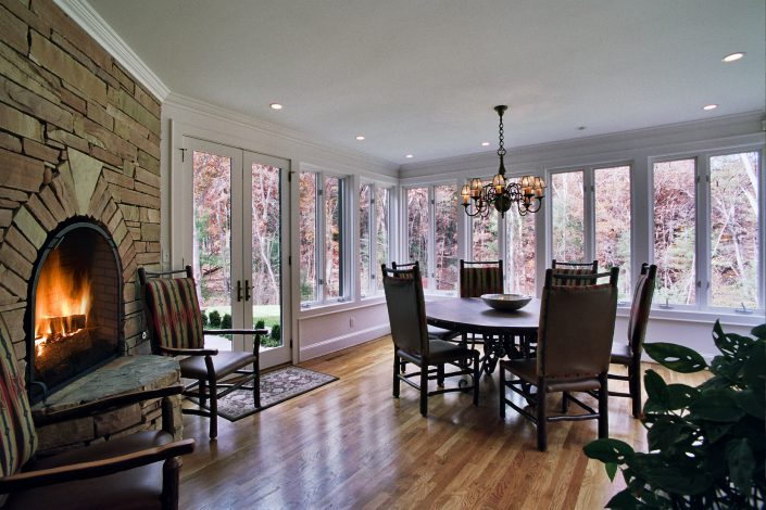 dining room design, asheville, Scott W Bartholomew Architect