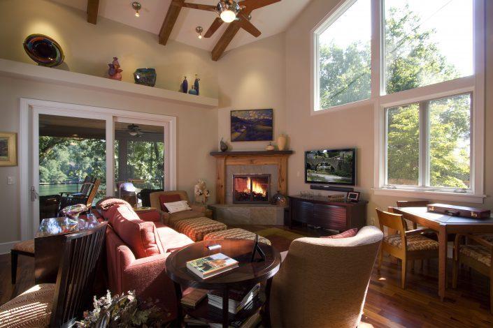 living room, Scott W Bartholomew Architect