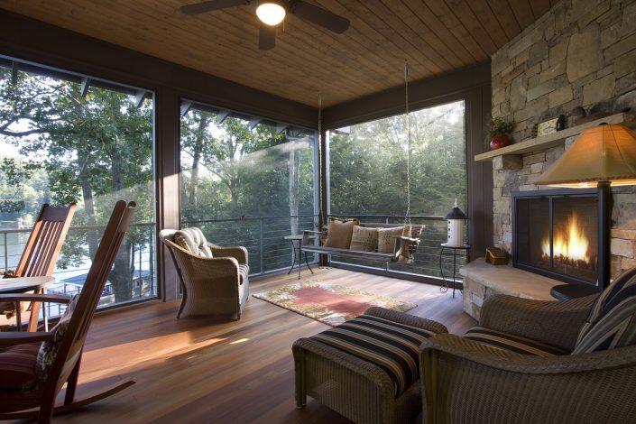 screen porch - sunroom, Scott W Bartholomew Architect