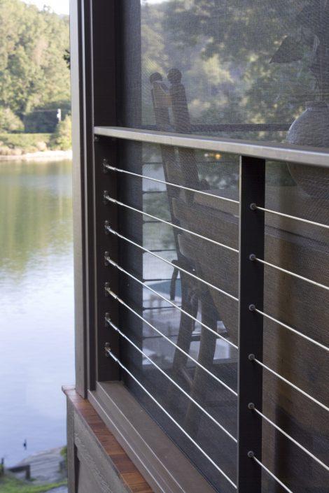 railing design, Scott W Bartholomew Architect