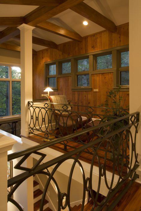 Balcony loft, Scott W Bartholomew Architect