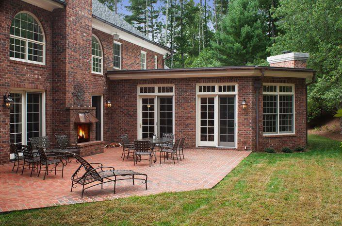 addition and patio, asheville, scott w bartholomew architecture