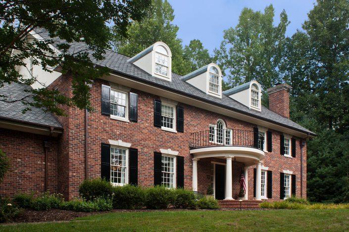 Federal Style, asheville, scott w bartholomew architecture
