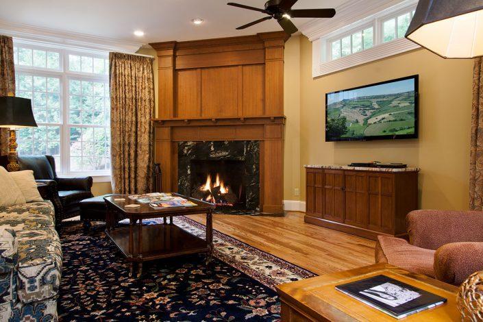 fireplace, asheville, scott w bartholomew architecture