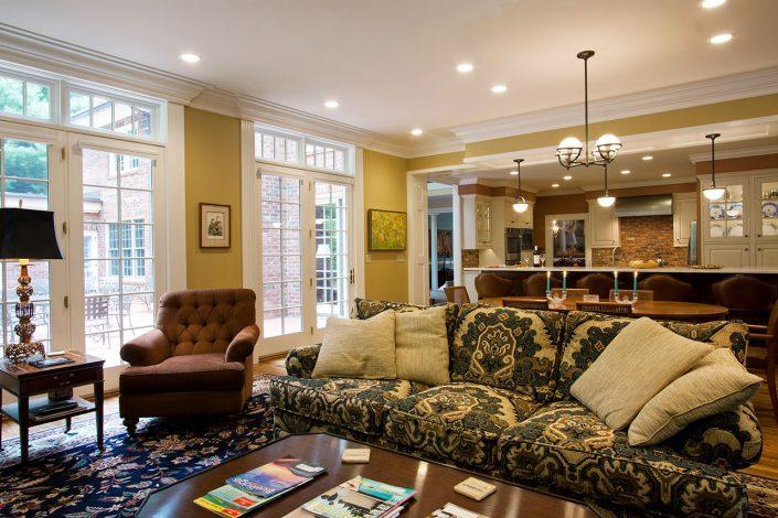 Great Room, asheville, scott w bartholomew architecture