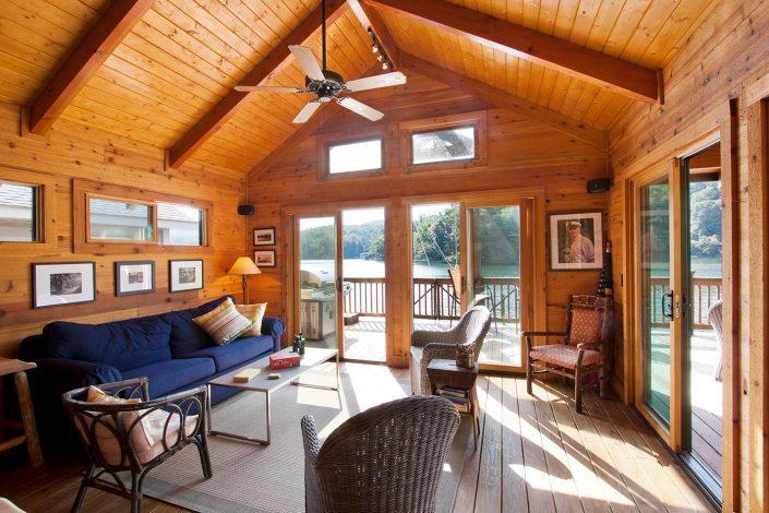 boathouse living, Scott W Bartholomew Architect
