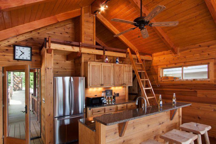 boathouse kitchen, Scott W Bartholomew Architect