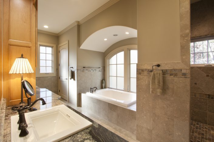 Master BAth, asheville, Scott W Bartholomew Architect