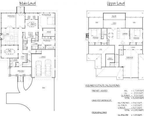 floor plans, Scott W Bartholomew Architect