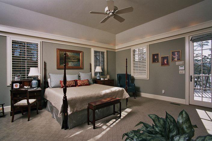 bedroom, asheville, scott w bartholomew architecture