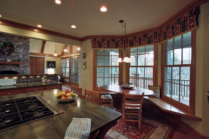 Arts and Crafts - kitchen design, asheville, scott w bartholomew architecture