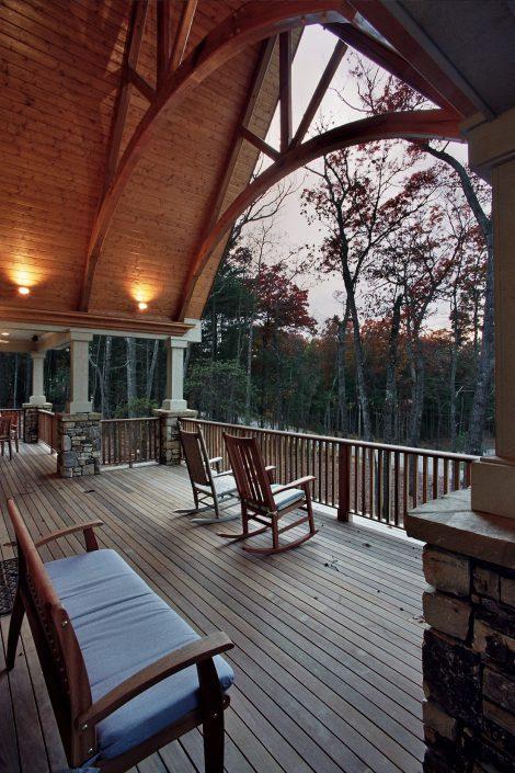 grand porch, asheville, scott w bartholomew architecture
