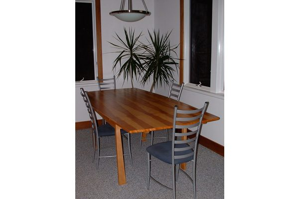 danish-extension-table design, Scott W Bartholomew Architect