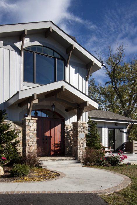 Craftsman Entry, Asheville, Scott W Bartholomew Architect